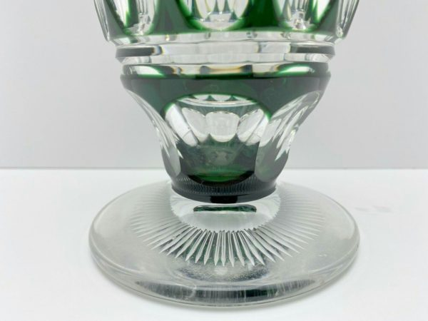 VASE Cristal ART DÉCO Joseph Simon VAL SAINT LAMBERT