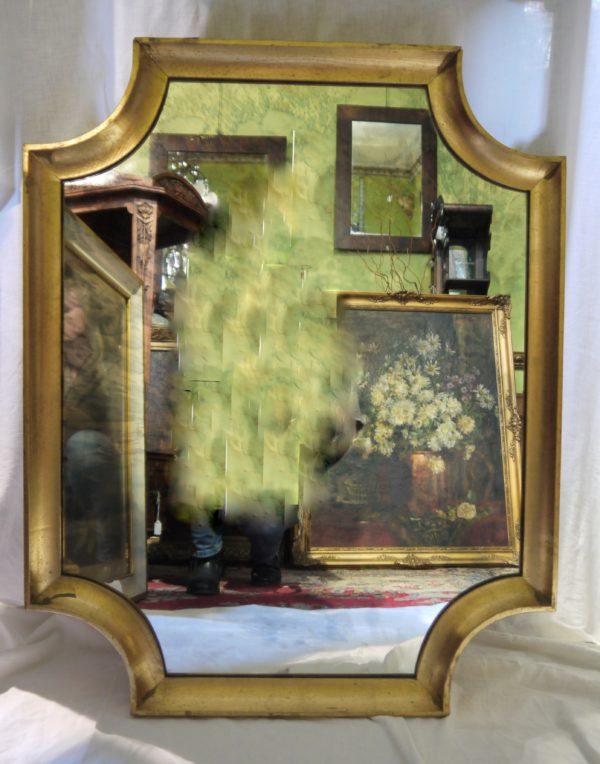 miroirs en bois doré