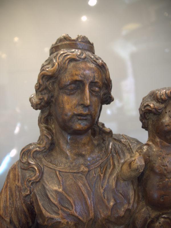 Vierge à l'enfant Flandres XVIIème
