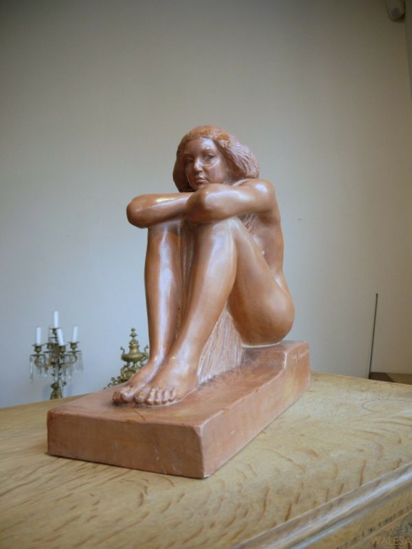 Sculpture Terre Cuite Louis Dupont