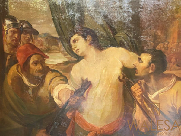 Martyre de Sainte-Agathe