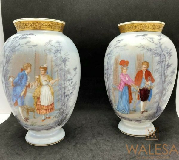 vases opaline de cristal