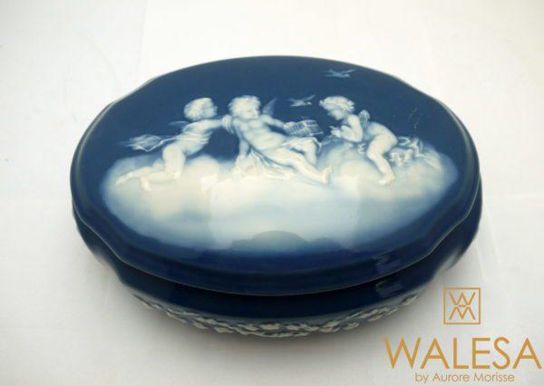 Bonbonnière porcelaine de Limoges CamilleTharaud