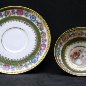 Tasse Porcelaine Prusse Erdman Schlegelmich