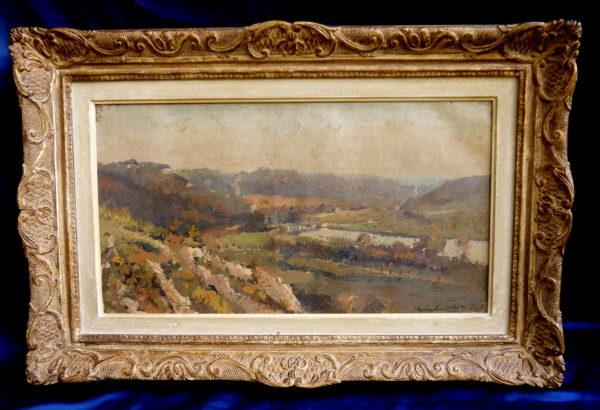 Georges Lambillotte Huile sur toile 1942