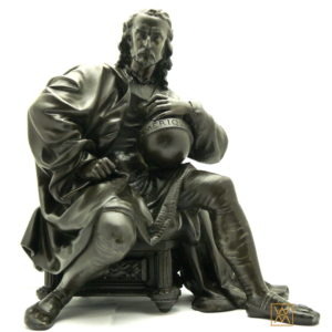 Sculpture Christophe Colomb