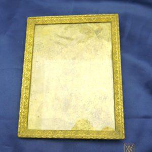 Cadre bronze doré style Louis XVI