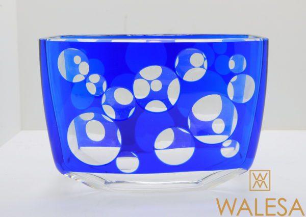 Vase cristal Val Saint Lambert Art déco