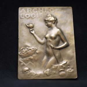 Rare médaille Emille VERNIER ARCHEOLOGIE