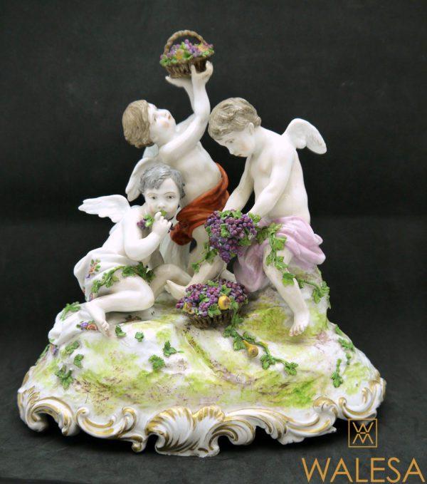 Groupe en Porcelaine Meissen