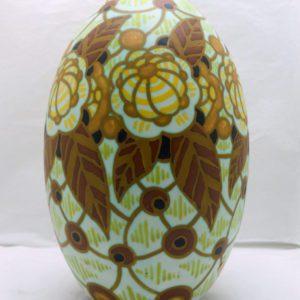 Vase ovoïde Charles Catteau D963