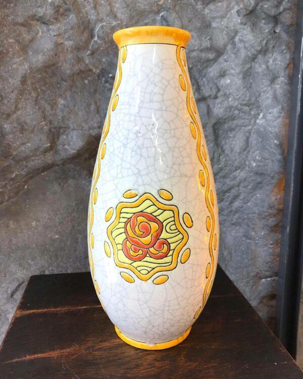 Charles CATTEAU Keramis Vase At Déco 805